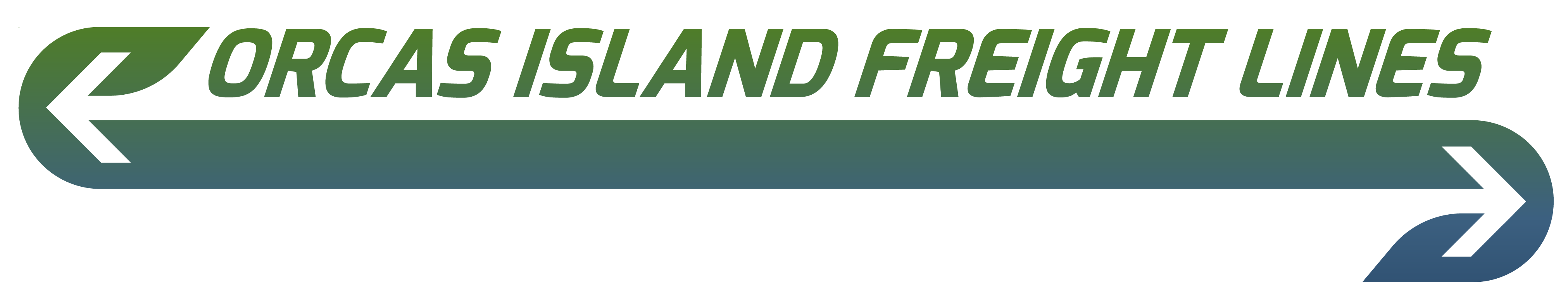 Orcas Island Freight Lines logo