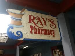 Ray's Pharmacy sign