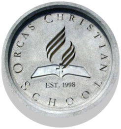 Orcas Christian School logo